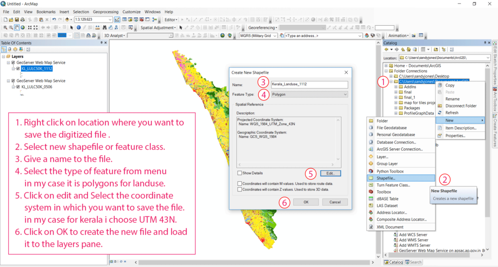 Create new Shapefile