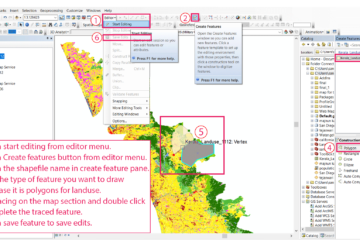 Start editing on new Shapefile
