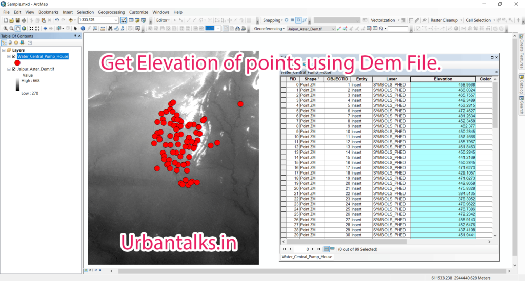 GIS0011-2018.03.10-Get-Elevation-of-Points-using-Dem-files-0