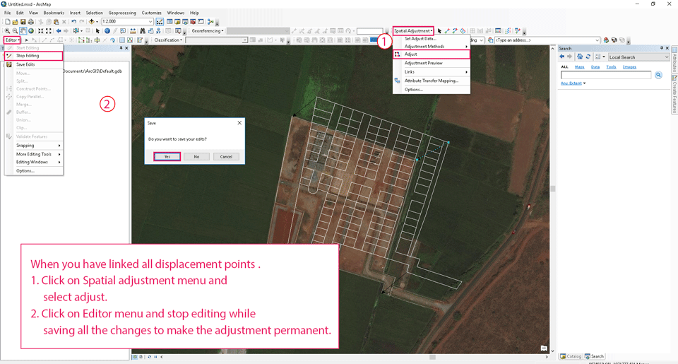 GIS0012-2018.07.11-Adjusting-features-in-ArcGIS-using-Spatial-Adjustment-2