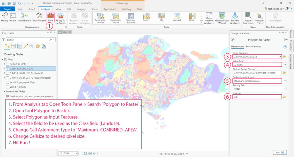 GIS0016-2019.09.04-Landuse-Pixelation-to-Identify-Major-Landuse-in-Grids-arcgispro